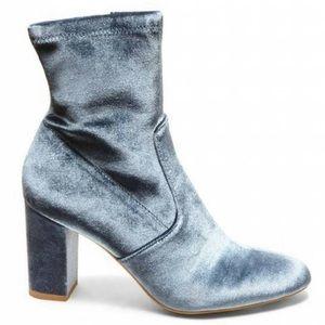 Steve Madden Velvet Ankle Boots